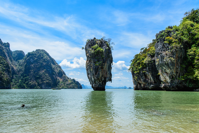 James Bond Island in Phang Nga Bay, Thailand
