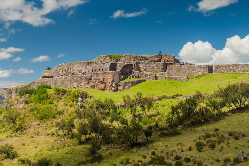 Puka Pukara ruins near Cuzco