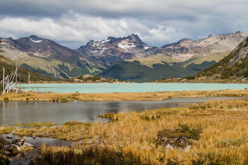 阿根廷火地岛的湖泊
