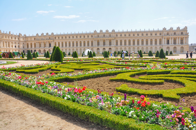 Garden at Versailles Palace, Paris