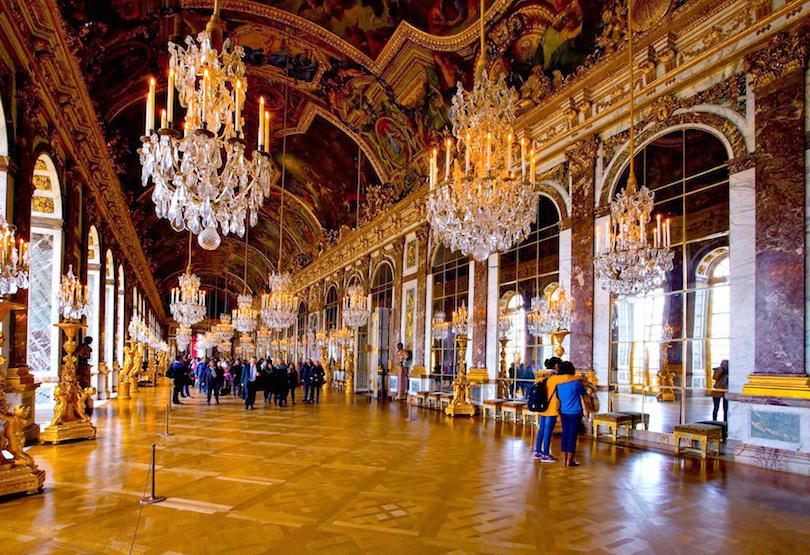 Chteau de Versailles , galerie des glaces