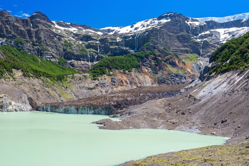 黑色冰川,纳韦尔瓦皮国家公园,阿根廷