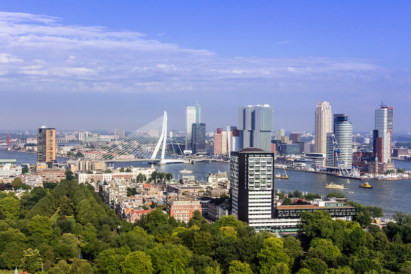 Rotterdam Skyline from Euromast
