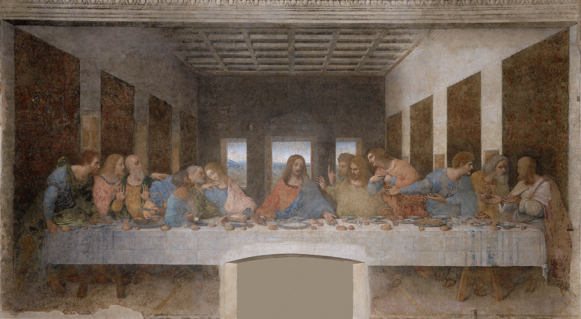 Last Supper, Leonardo da Vinci