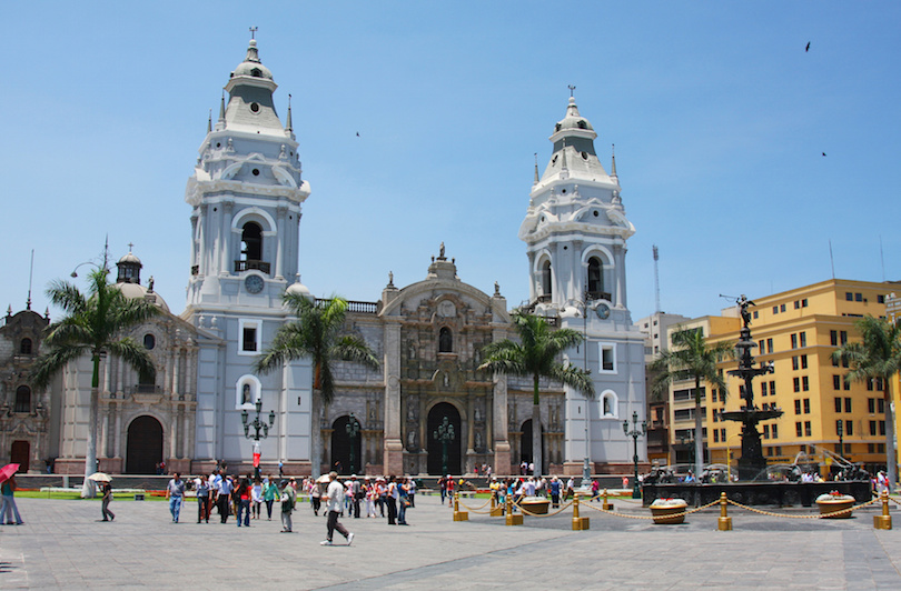 Lima Cathedral in Peru