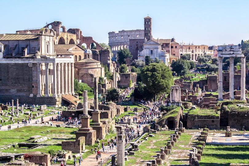 罗马论坛,意大利