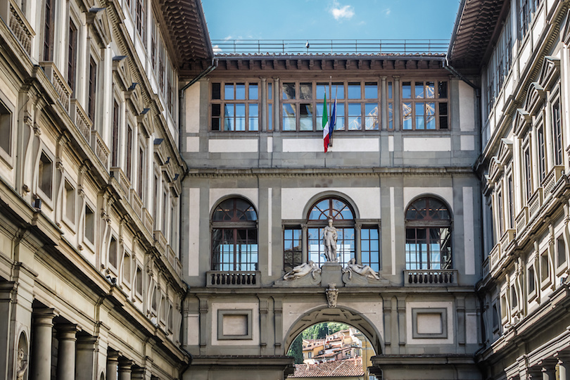 佛罗伦萨的乌菲齐画廊
