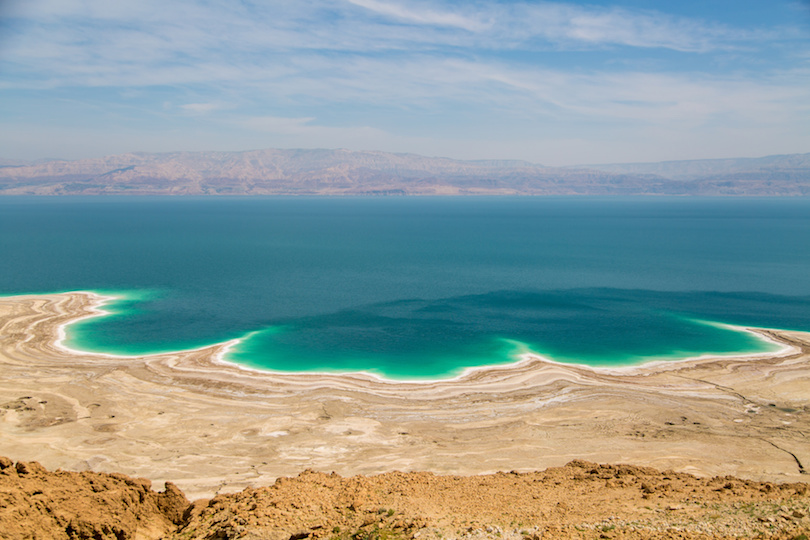 Desert landscape of Israel, Dead Sea