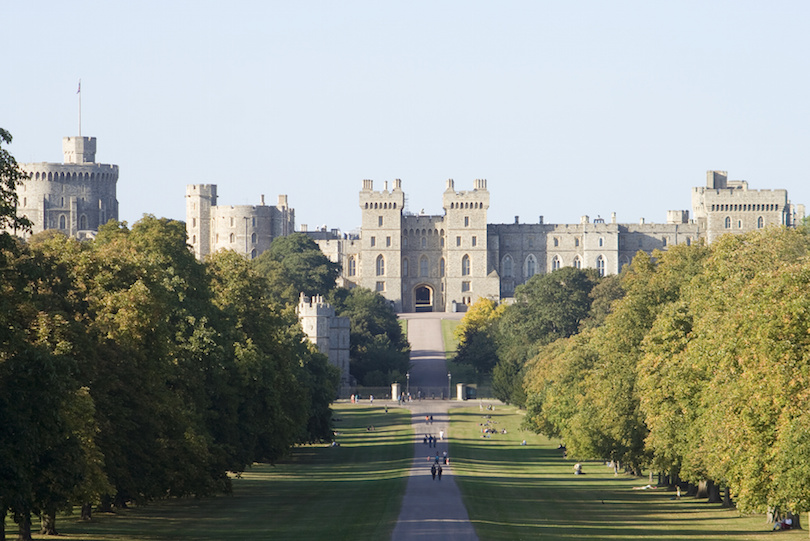 Windsor Castle near London