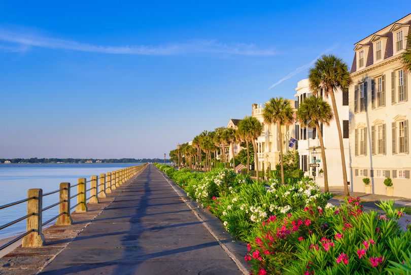 Charleston Sc Tourist Map on