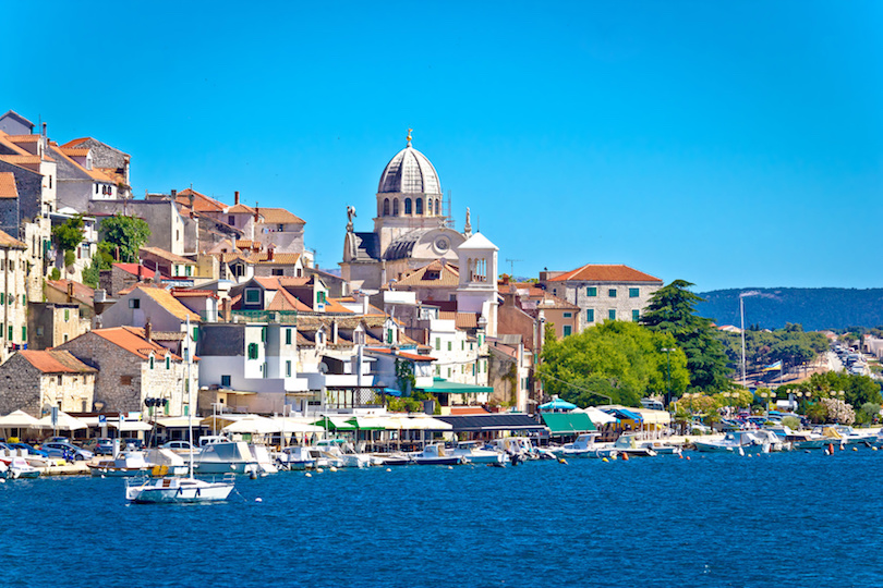 town of Sibenik