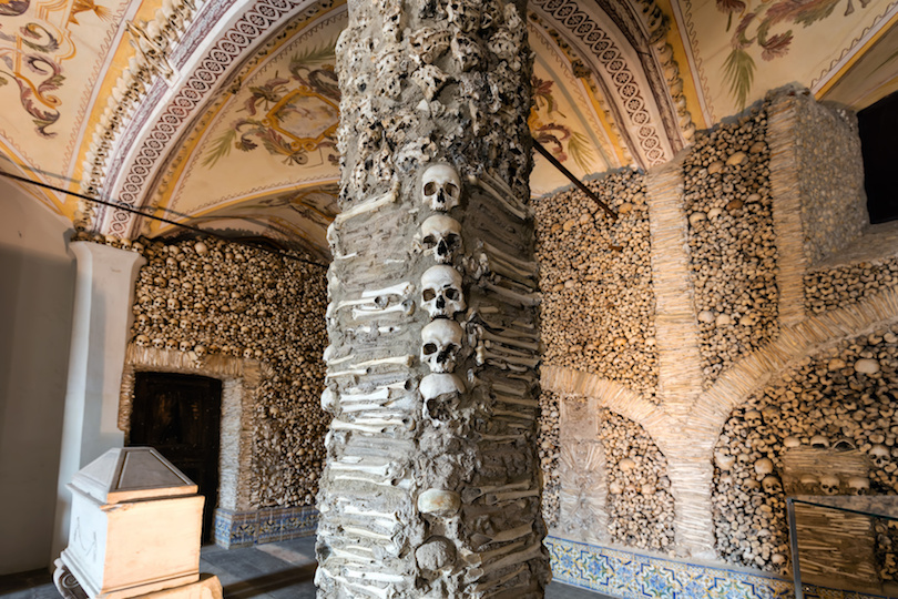 Chapel of Bones in Evora