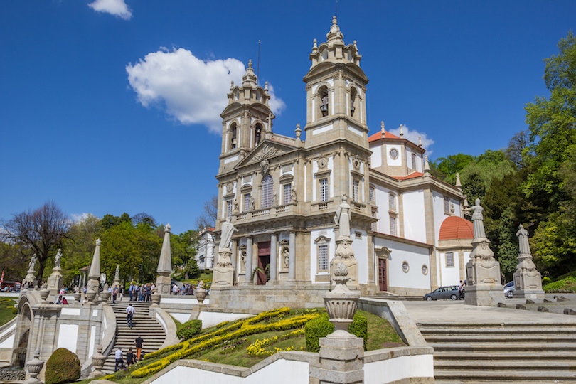 Bom jesus do Monte church in Braga