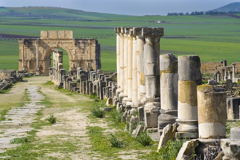 Decumanus Maximus Arch