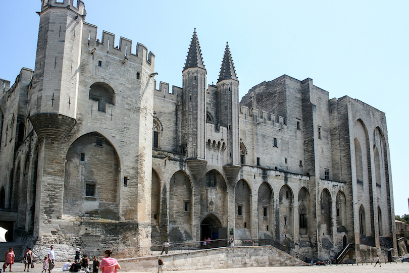 The Popes' Palace of Avignon