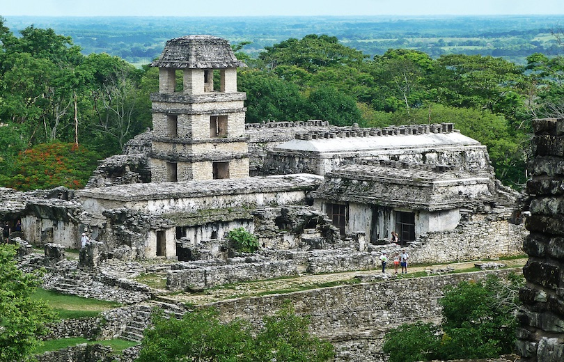 Palenque Mayan Ruins in Mexico