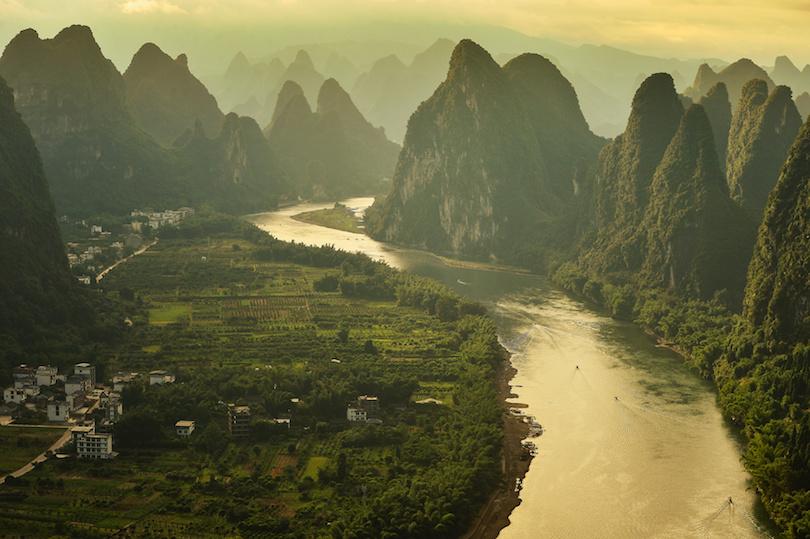 Xianggong hill landscape