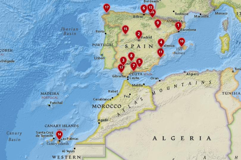 17 Best Cities To Visit In Spain With Map Photos Touropia