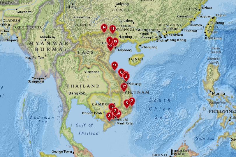 17 Best Cities to Visit in Vietnam (with Photos & Map) - Touropia