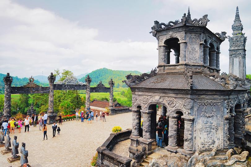Khai Dinh Tomb at Hue