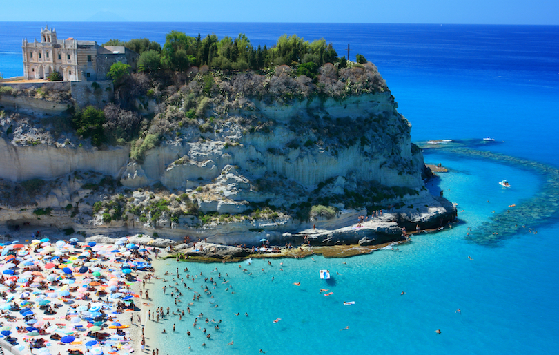 10 best beaches in italy with photos map touropia for Immagini cavalluccio marino