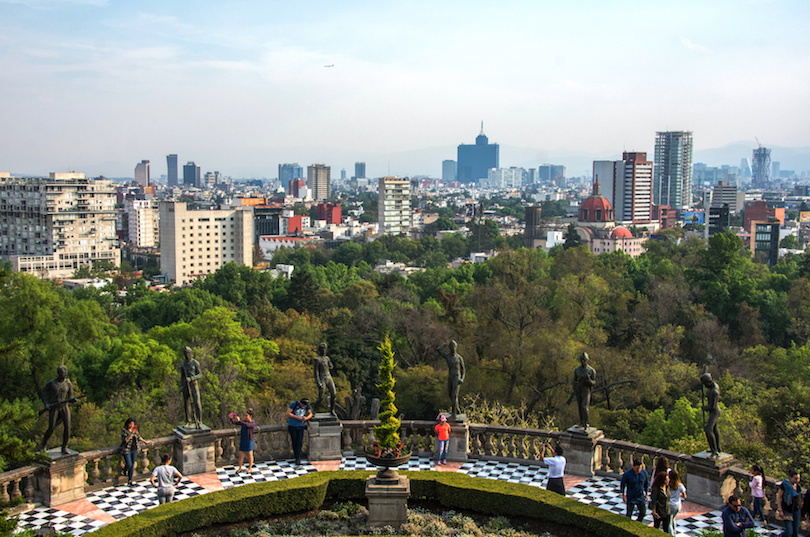 Skyline in Mexico City