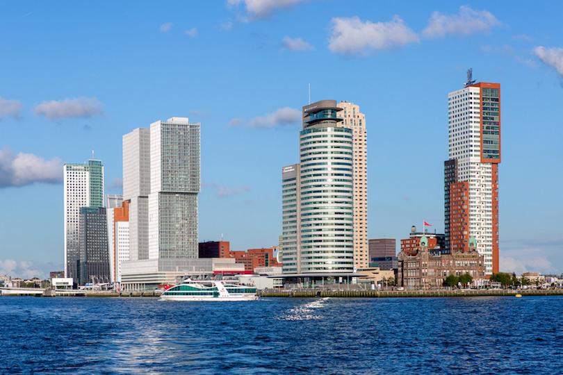 Cityscape of Rotterdam