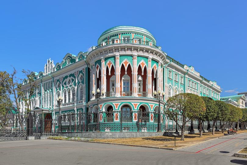 塞瓦斯季亚诺夫在叶卡捷琳堡的房子