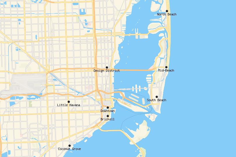 where to stay in Miami (beach)