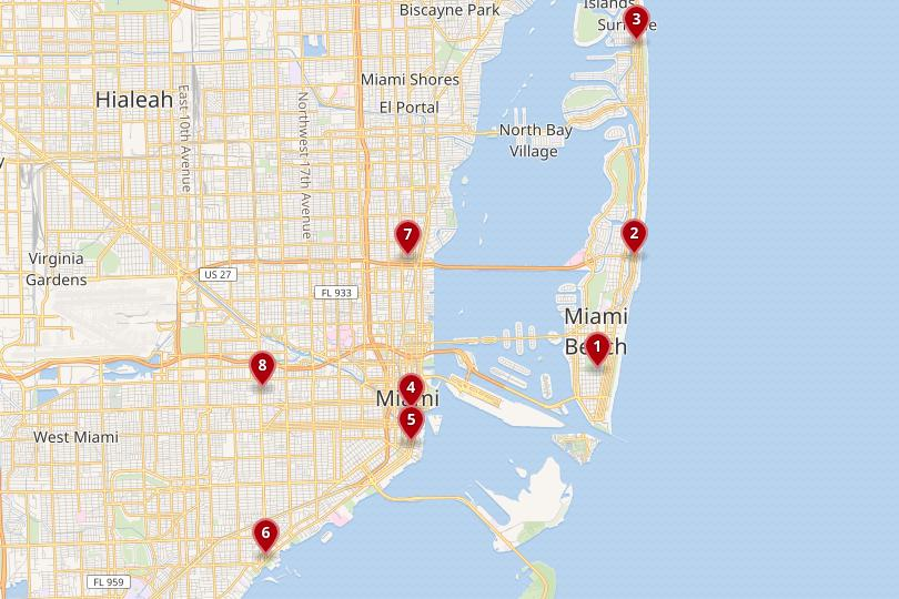 Where to Stay in Miami & Miami Beach: Best Areas & Hotels ... on downtown miami map, california hotel map, hotel st. pete beach map, daytona hotel map, treasure coast hotel map, punta gorda hotel map, lauderdale by the sea hotel map, gulfport hotel map, linq hotel map, dana point hotel map, myrtle beach sc hotel map, santa monica hotel map, rochester hotel map, tulsa hotel map, pensacola hotel map, illinois hotel map, longboat key hotel map, st petersburg hotel map, boca raton hotel map, ann arbor hotel map,