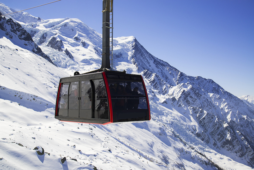 Cable Car from Chamonix