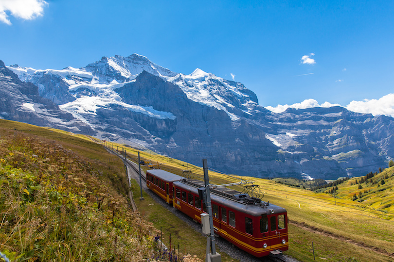Train of Jungfraubahn