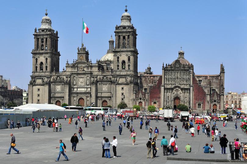 墨西哥城大都会大教堂