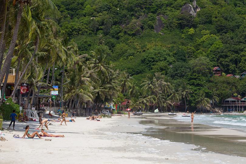 haad_rin_beach ▷ Dónde alojarse en Koh Phangan