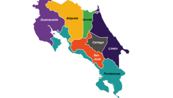 Provinces in Costa Rica