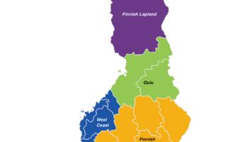 finland regions map