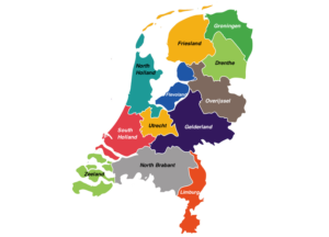regions in the netherlands