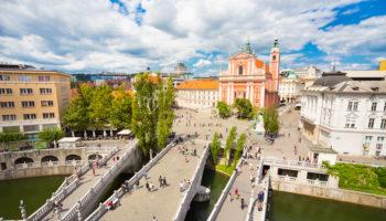 Tourist Attractions in Ljubljana, Slovenia