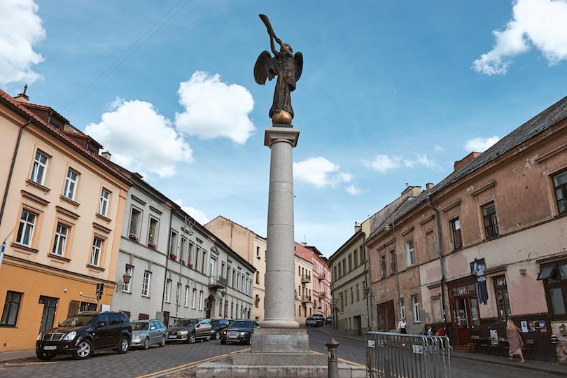 Uzupis Statue