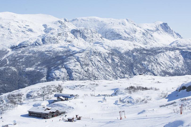 Skiing in Hemsedal