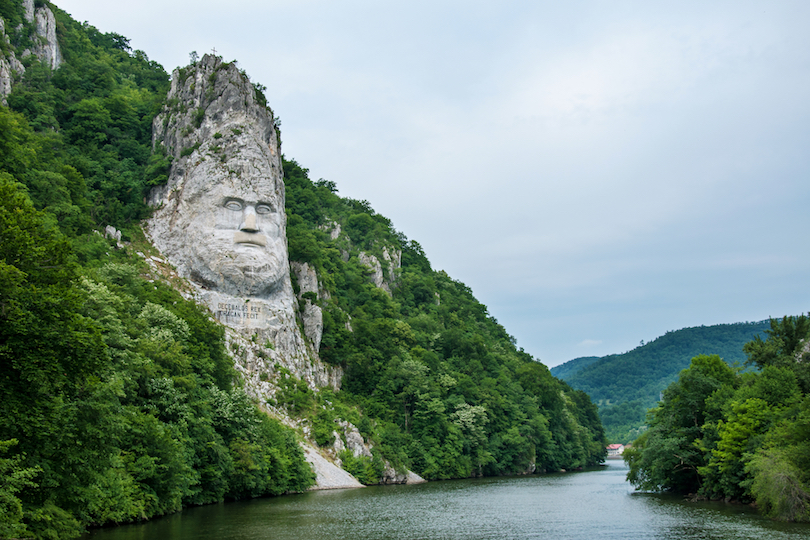 Statue of King Decebalus