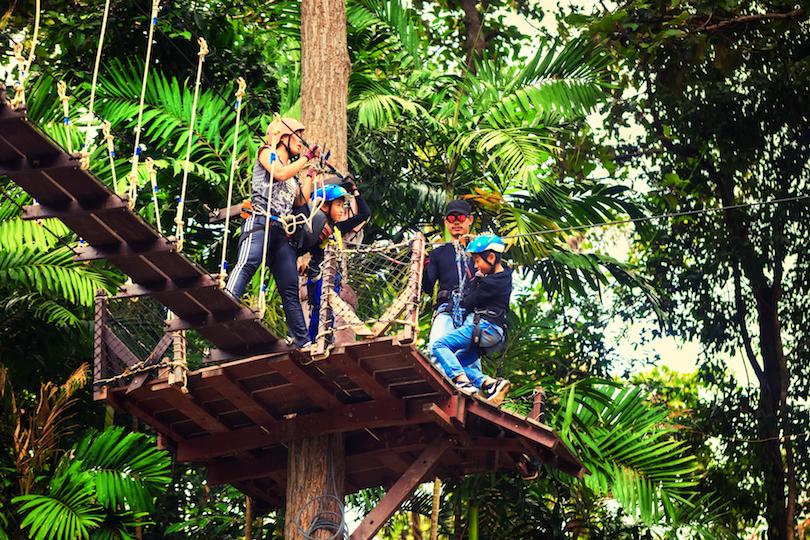 Bokeo Gibbon Experience