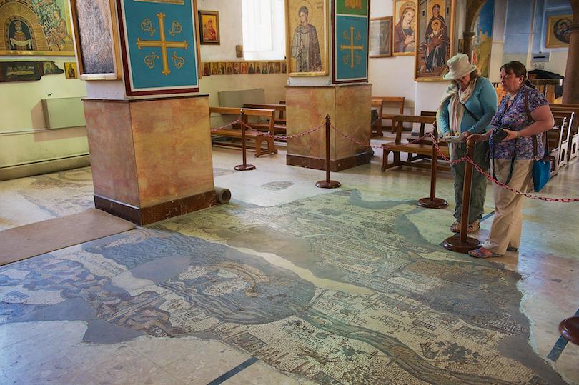 Madaba Mosaic Map