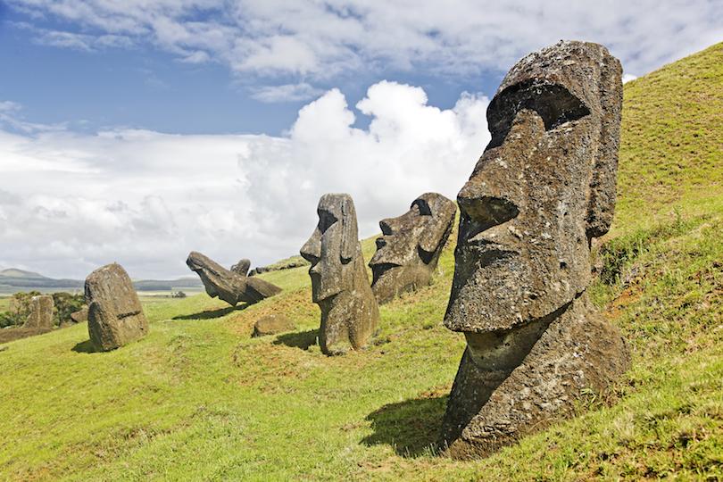 Moai Stone Statues