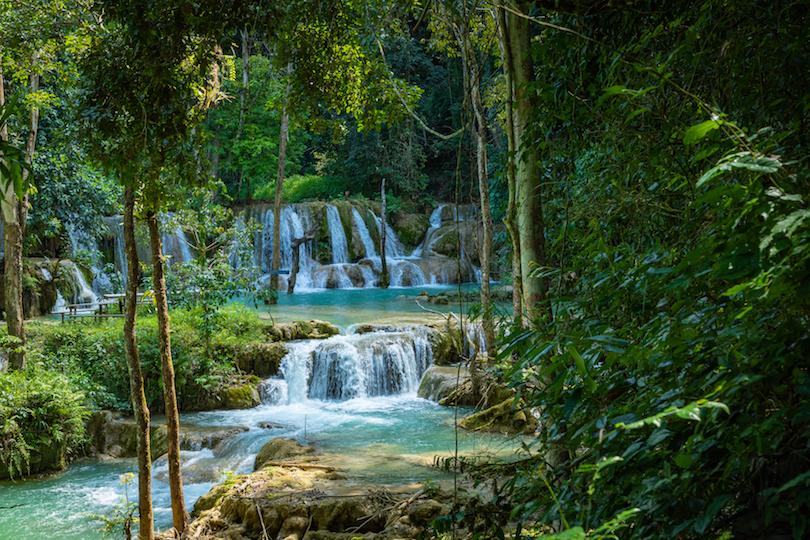 Tad Sae Waterfalls
