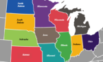 midwest states map