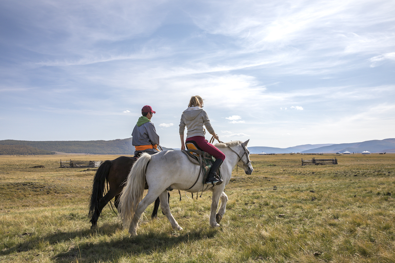 Horse Riding in Orkhon Valley