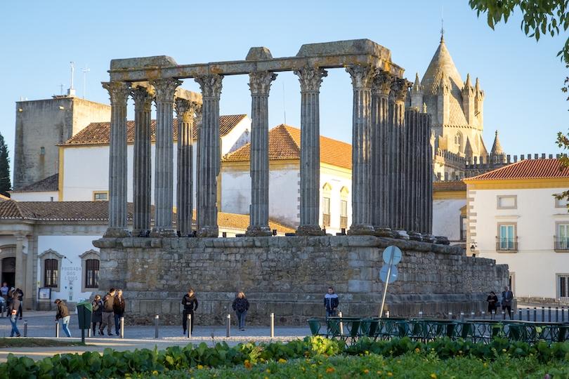 Roman Temple of Évora
