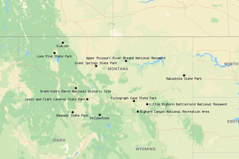 national parks in Montana