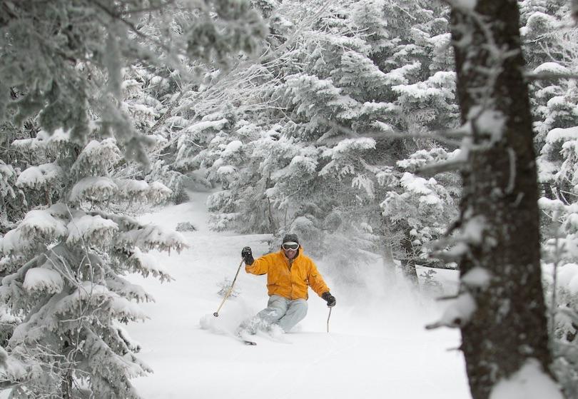 Skiing in Stowe